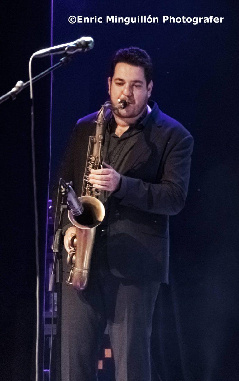 Rafael Díaz. Saxos